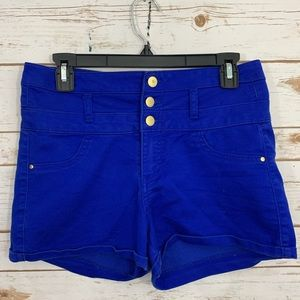 REFUGE High Waisted Back Pockets Shorts 8